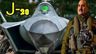 المقاتلة الشبحية التي أتمني حصول مصر عليها التنين العظيم مقاتلة J-20 الصينية