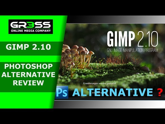 Kostenlose Photoshop Alternative GIMP 2.10