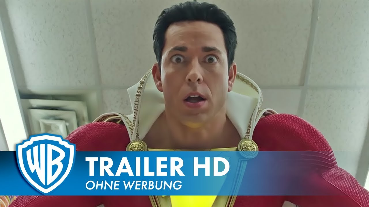 SHAZAM! - Offizieller Teaser Trailer #1 Deutsch HD German (2019)