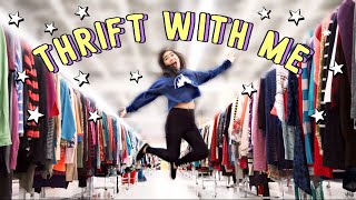 Thrift With Me + Try On Thrift Haul | JENerationDIY