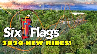 Six Flags Theme Parks 2020 Announcements ALL Rides & Roller Coasters