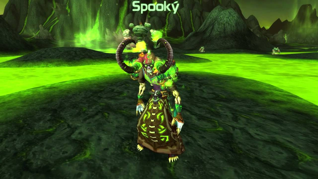 Rate The Transmog - Spooky\'s Cloth Set - Fel Lord - YouTube