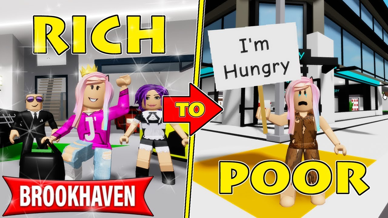 Download Janet goes from RICH to POOR in Brookhaven!   Roblox Roleplay