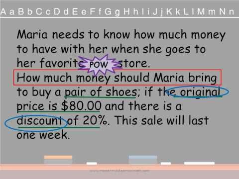 easy system to solve word problems wmv  easy system to solve word problems wmv