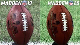 Madden NFL 19 vs. Madden NFL 20 – Graphics Comparison