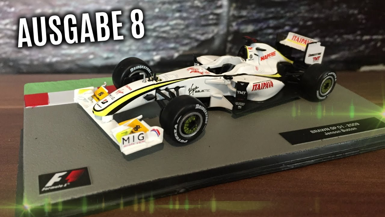 f1 formel 1 rennwagen kollektion 8 jenson button brawn. Black Bedroom Furniture Sets. Home Design Ideas