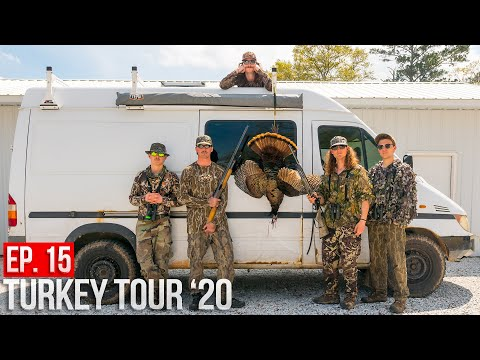 TOM AT 7 YARDS! - Alabama Public Land Turkey Hunt