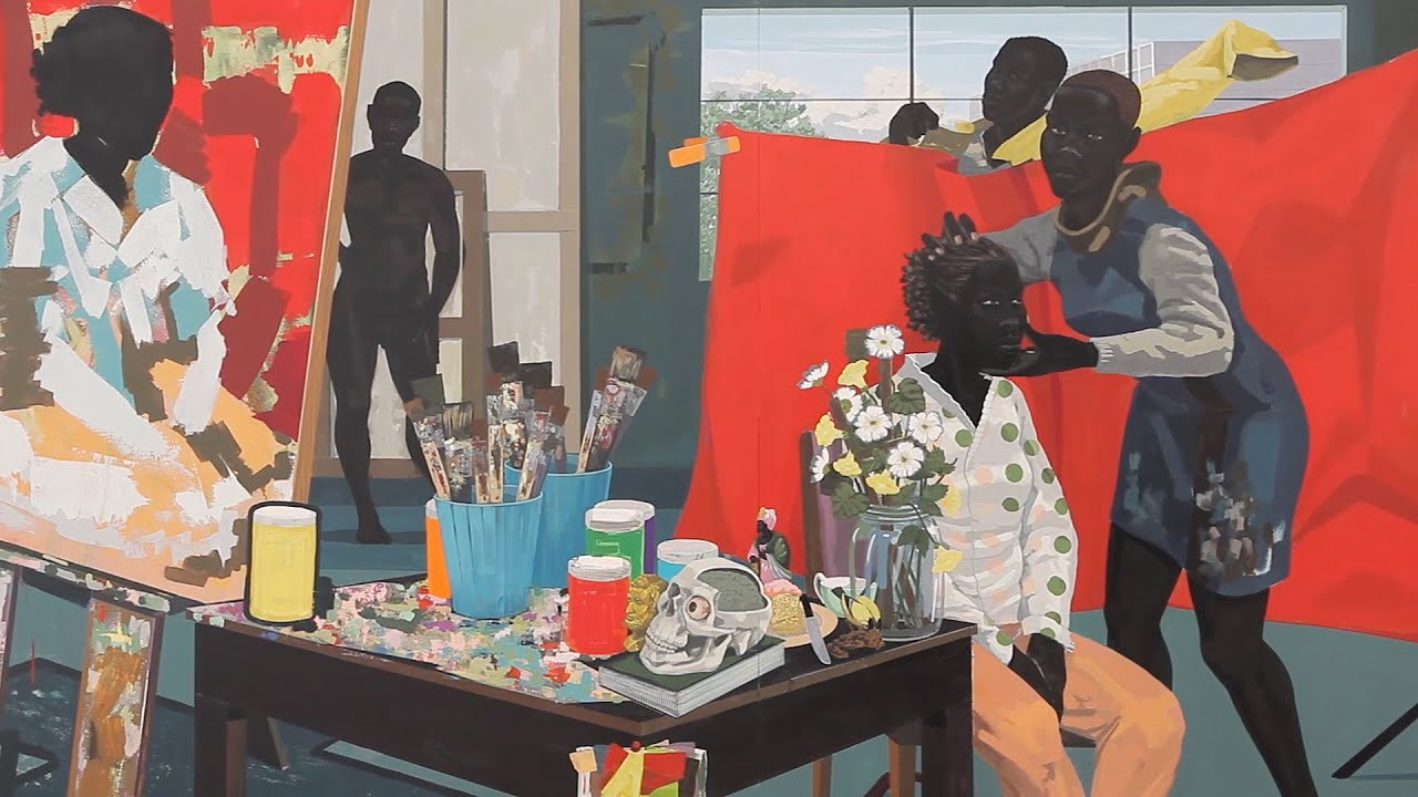 Kerry James Marshall Look See - YouTube