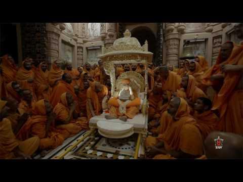 Divine Darshan of HH Pramukh Swami Maharaj, 13 Aug 2016
