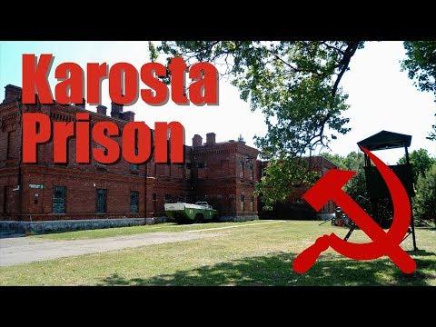 Extreme experience in Karosta Prison Liepaja, Latvia, Letonia.