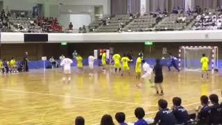 【ハンドボール】インターハイ北陸VS法政二GKセーブ集(北陸笹本)
