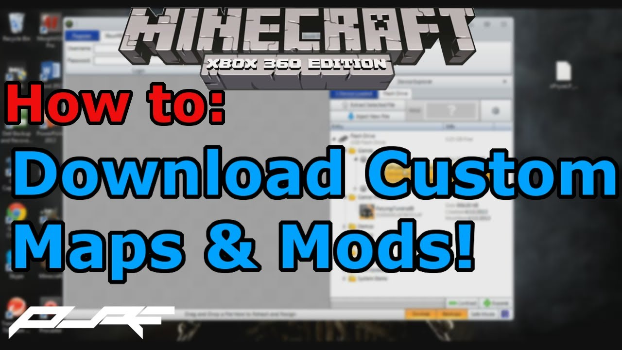 How to Download Custom Maps and Mod on Minecraft Xbox 360! | Easy Tutorial