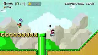 【スーパーマリオメーカー2】test(ひたすらマリオチャレンジ) Part116【N Air】