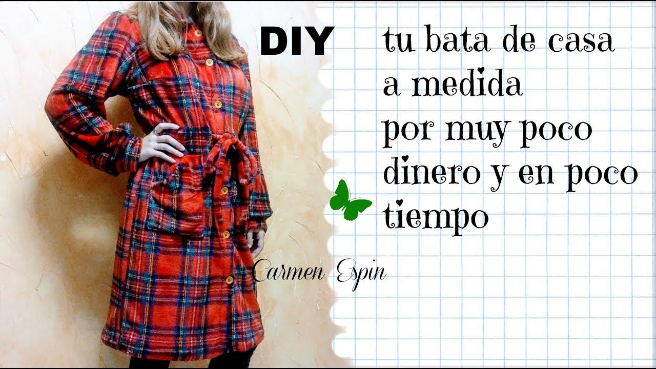 3dd67c380 Bata de Casa Juvenil :DIY - YouTube