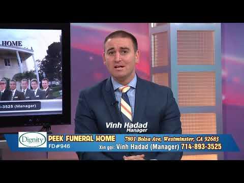 Peek Funeral Home TalkShow P1 ad Lic