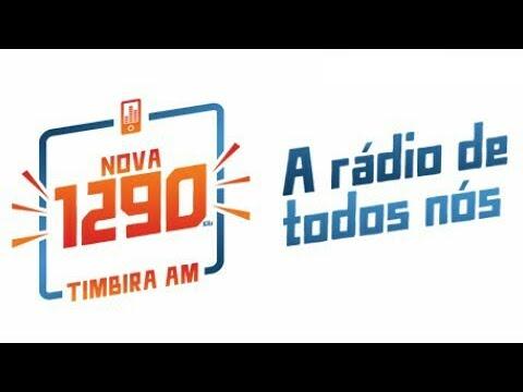 Prefixo - Rádio Timbira 1290 KHz - São Luís - MA