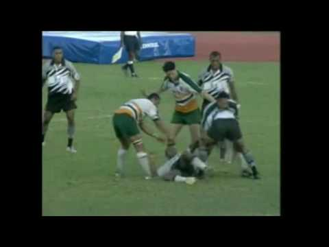 South Pacific Games 2003 Rugby 7s  Fiji vs Cook Islands M30
