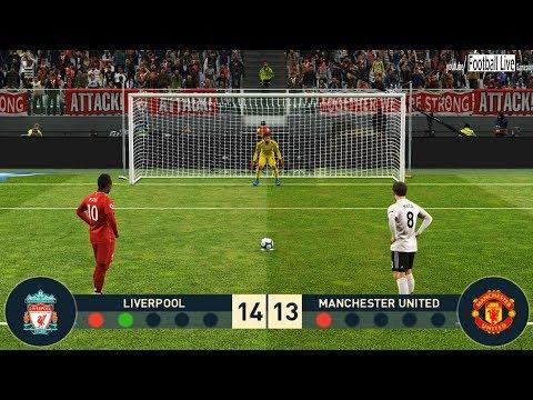 PES 2019 | LIVERPOOL vs MANCHESTER UNITED | Penalty Shootout | Salah vs Pogba | Gameplay PC