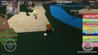 Playing roblox(for 12 subscribers)(: