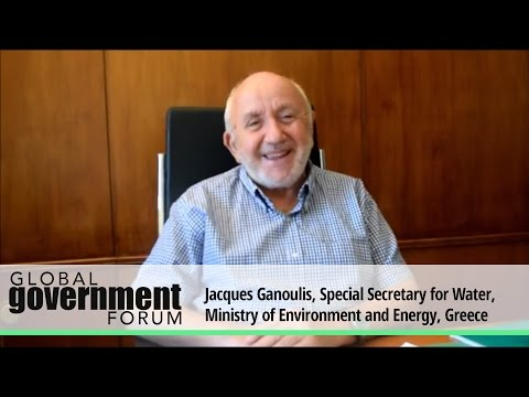 Jacques Ganoulis, Special Secretary for Water, Ministry of Environment and Energy, Greece