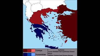 Alternatif Türkiye - Yunanistan Savaşı Her Gün [Mapping]