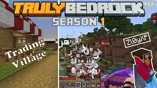 Building a trading village and doing some explosive demolition  Truly Bedrock S1E33