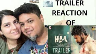 #Suriya #NGK #Selvaraghavan NGK - Official Trailer Reaction Tamil | Foreigner VS Indian Reaction