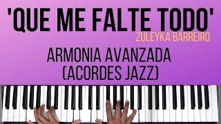 Que Me Falte Todo   Armonía Avanzada (Acordes Jazz)   Tutorial de Piano