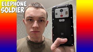 ELEPHONE SOLDIER - 10 ЯДЕР, 2К ЭКРАН, NFC, 5000 mah