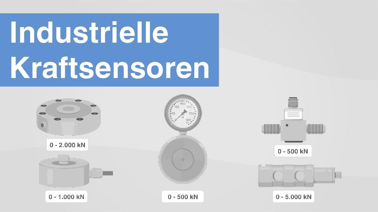 Industrielle Kraftsensoren | Welche Sensortechnologien zur Kraftmessung gibt es?