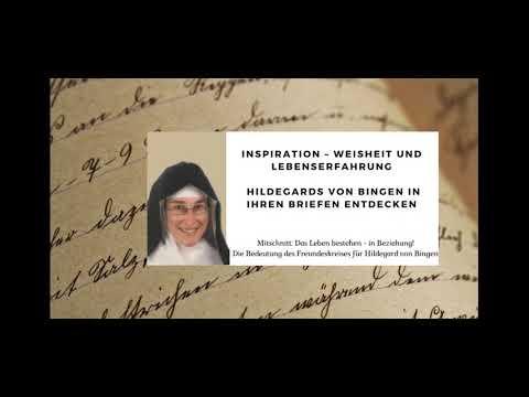 INSPIRATION – Weisheit und Lebenserfahrung Hildegards von Bingen in ihren Briefen entdecken