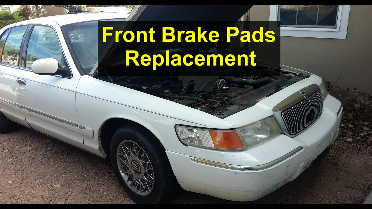 Front Brake Pads Replacement On Mercury Grand Marquis Votd Youtube 1992 Engine Diagram