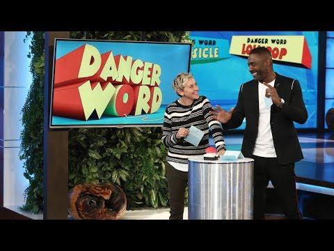 Ellen And Idris Elba Play 'Danger Word'