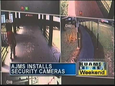 Agueda Johnston Middle School installs security cameras