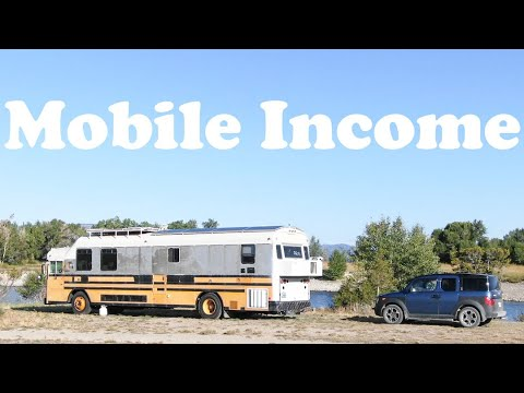 Full Time Nomad Income Explained + A Mobile $3k - $4k Per Month Gig You Can Work
