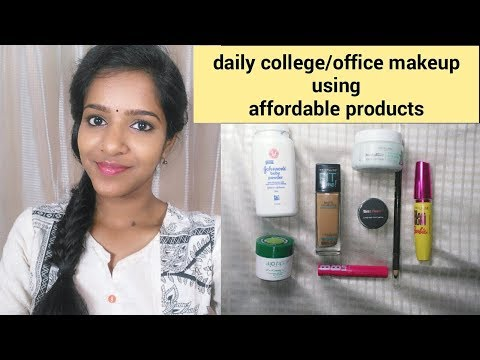 Office Makeup With Affordable Products