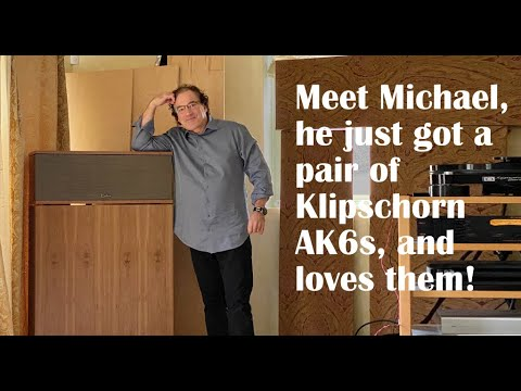 Michael is a cable skeptic running big Klipschorns, tube amps, Schiit and more