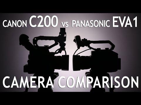 Camera Comparison: Canon C200 vs Panasonic EVA 1