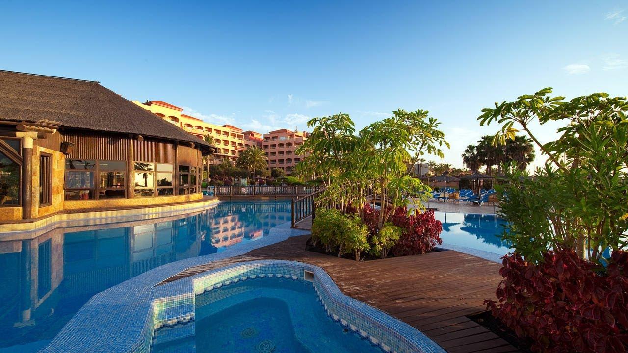 Elba Sara Beach & Golf Resort - Fuerteventura - YouTube
