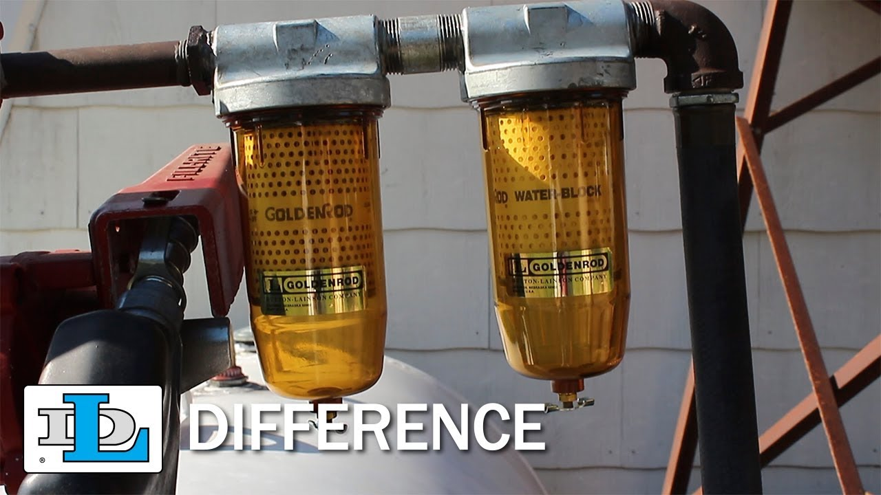 What's the Difference Between Goldenrod Bowl and Canister Fuel Tank Filters?  - FAQs - YouTubeYouTube