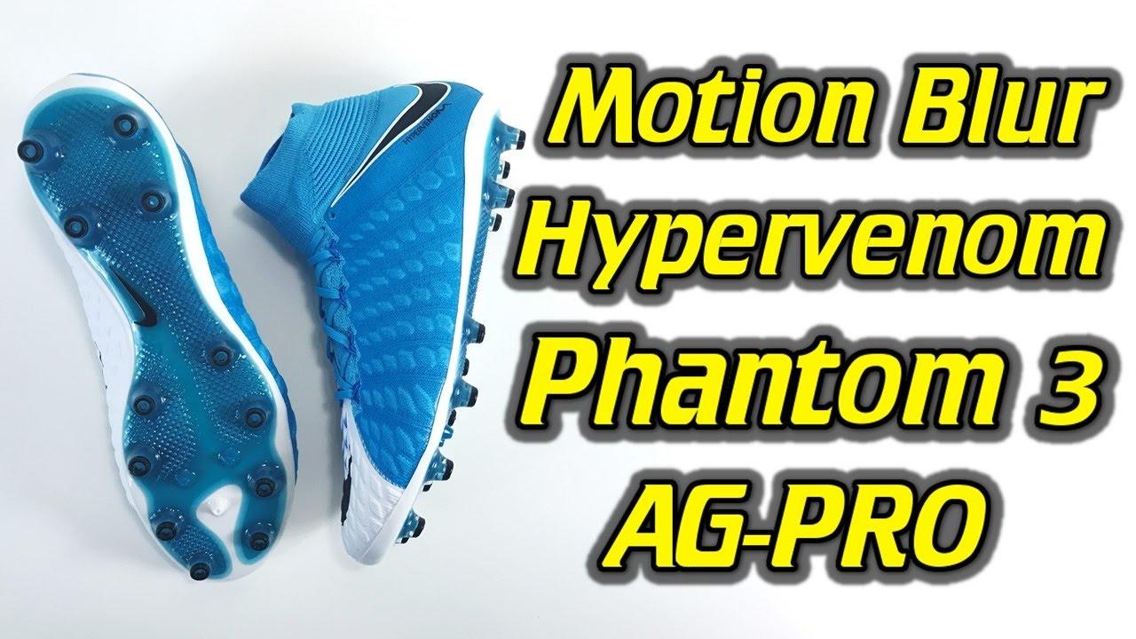 d241d099c49 Nike Hypervenom Phantom 3 DF AG-Pro (Motion Blur Pack) - One Take Review +  On Feet