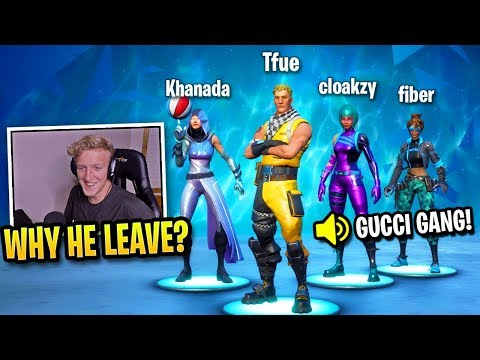 This Is Why Tfue Chose These Players To Team With...