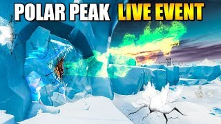 DAS befindet sich in POLAR PEAK - LIVE EVENT Infos | Fortnite Season 9 Deutsch