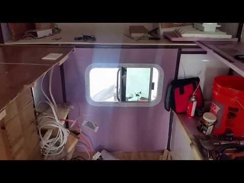 DIY Steel Frame slide-in Truck Camper part 2