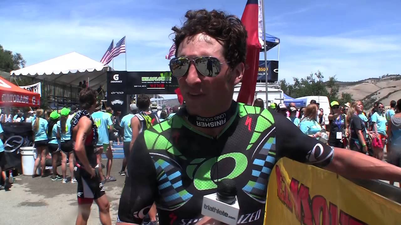 2014 Wildflower Triathlon Post-Race Interview: Jesse Thomas