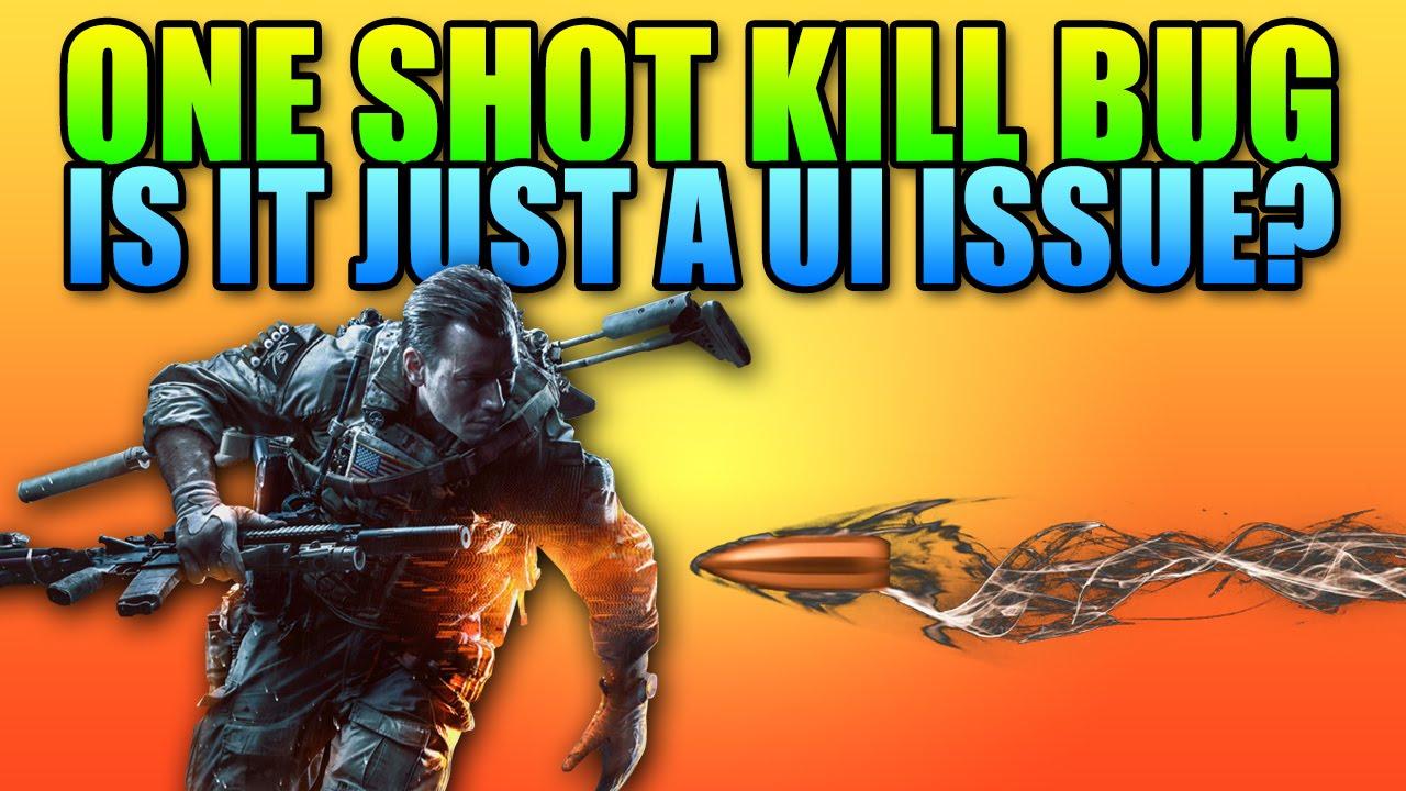 Battlefield 4 One Shot Kill Bug - Simply A User Interface ...