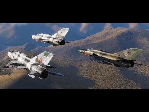 DCS / МиГ-21 - Перелет Моздок - Сухуми. Без связи. Участники:  Matvej389,  Samson Fulcrum, StraN1x