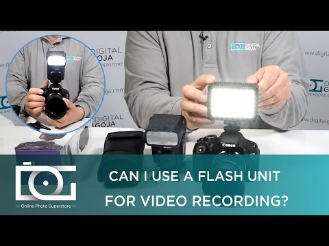VIDEO LIGHT | How To Shoot Video with a Continuous LED Hot Shoe Flash Light | TUTORIAL