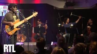 Richard Bona - O sen sen sen  en live dans RTL Jazz Festival présenté par Jean-Yves Chaperon - RTL