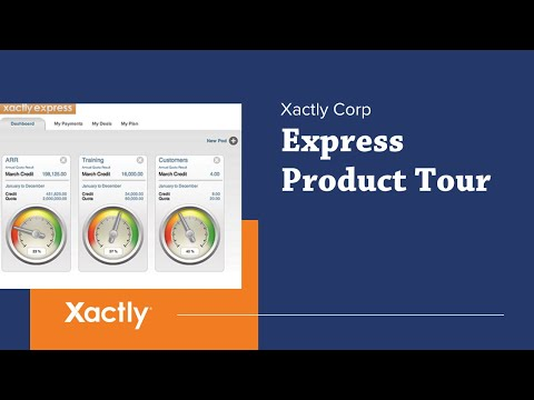 Express Product Tour | Xactly Corp